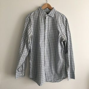 Banana Republic noniron slim fit button down Shirt